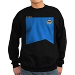 TNG Science Uniform (Capt) Sweatshirt (dark)