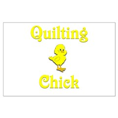 Quilting Chick Posters