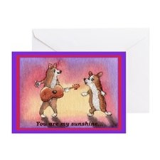Unique You are my sunshine Greeting Cards (Pk of 10)