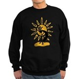 Hopi Kokopelli Gold Jumper Sweater