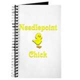 Needlepoint Chick Journal