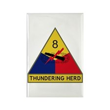 Thundering Herd Rectangle Magnet