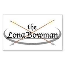 LongBowman Sticker (Rectangular)