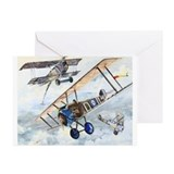 WWI Sopwith Camel Greeting Cards (Pk of 20)