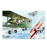 WWI RAF Handley Page Postcards (Package of 8)