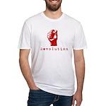 Communist Revolution Fist Fitted T-Shirt