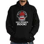 Sock Monkeys Rock Hoodie (dark)