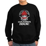 Sock Monkeys Rock Sweatshirt (dark)