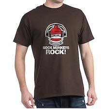 Sock Monkeys Rock T-Shirt