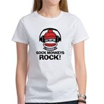 Sock Monkeys Rock Women's T-Shirt