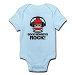 Sock Monkeys Rock Infant Bodysuit