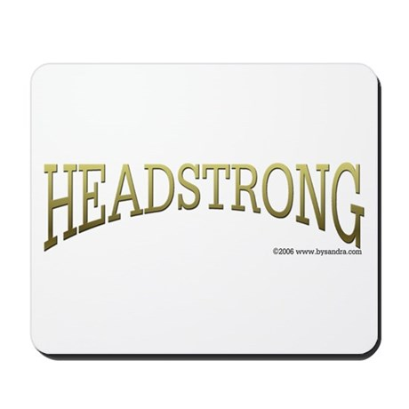 Headstrong Mousepad