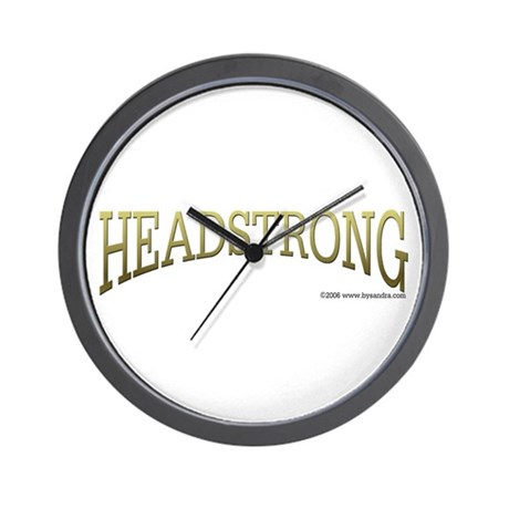Headstrong Wall Clock