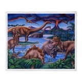 Dinosaurs Fleece Blankets