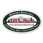 Oval 101.9 Sticker