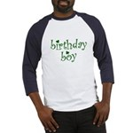 St. Patricks Day Birthday Boy Baseball Jersey