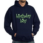 St. Patricks Day Birthday Boy Hoodie (dark)