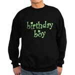 St. Patricks Day Birthday Boy Sweatshirt (dark)