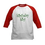 St. Patricks Day Birthday Boy Kids Baseball Jersey