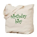 St. Patricks Day Birthday Boy Tote Bag
