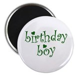 St. Patricks Day Birthday Boy Magnet