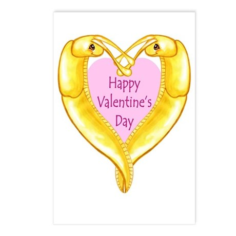 HVD Banana Slug Postcards (Package of 8)