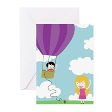 Hot Air Balloon Greeting Cards (Pk of 20)
