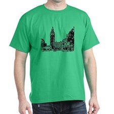 Cute London skyline T-Shirt
