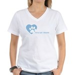 Women's V-Neck T-Shirt - Rescue Companion - supporting animal rescue and transport in the US