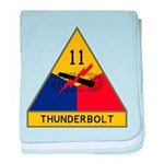 Thunderbolt baby blanket