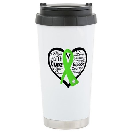 Non-Hodgkin's Lymphoma Ceramic Travel Mug