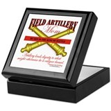 Army Field Artillery Mom FA Keepsake Box