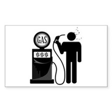 High Gas Fuel Oil Prices Decal