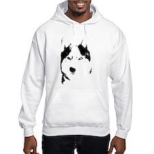 Siberian Husky Sled Dog Hoodie