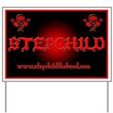Funny Stepchild music Yard Sign