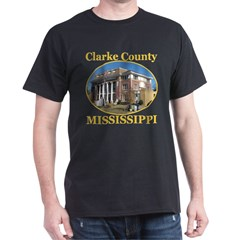Clarke County, Mississippi Dark T-Shirt