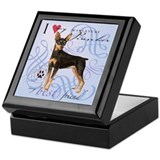 Miniature Pinscher Keepsake Box