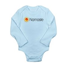 Namaste Sun 2 Long Sleeve Infant Bodysuit