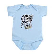 Fat Butted Zebra Infant Bodysuit