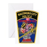 Baltimore City Police Greeting Cards (Pk of 10)