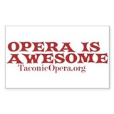 I love Opera Decal