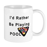 Rather Play Pool Mug