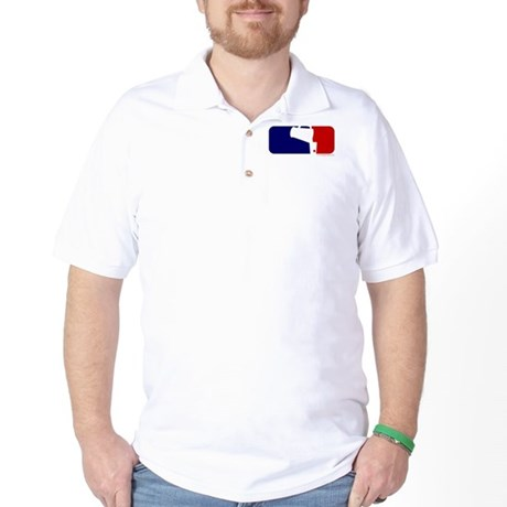 Beer Pong League Logo Golf Shirt