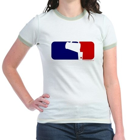 Beer Pong League Logo Jr. Ringer T-Shirt