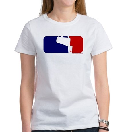 Beer Pong League Logo Women's T-Shirt