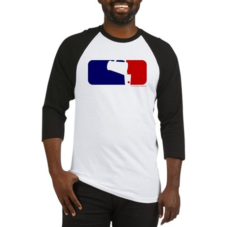 Beer Pong League Logo Baseball Jersey