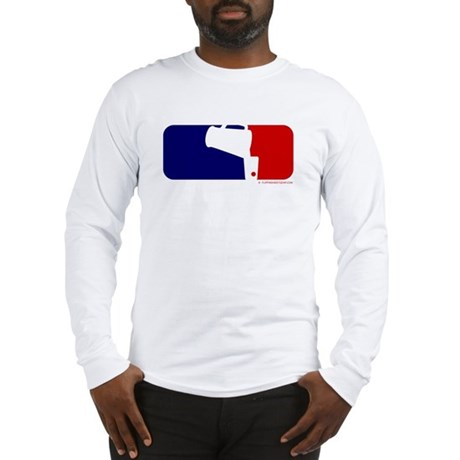 Beer Pong League Logo Long Sleeve T-Shirt