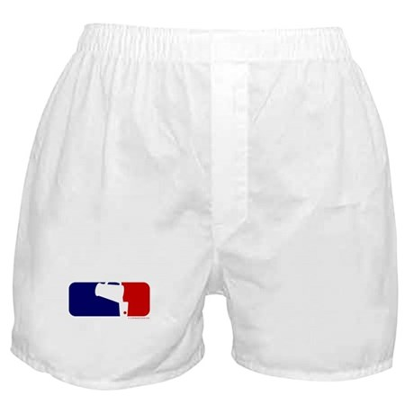 Beer Pong League Logo Boxer Shorts