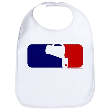 Beer Pong League Logo Bib
