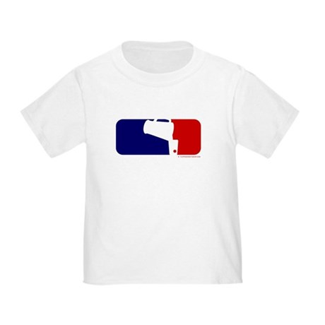 Beer Pong League Logo Toddler T-Shirt